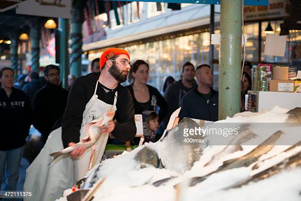 Pike Place Fish Throw