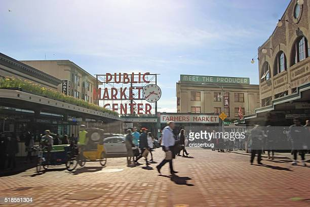 パイクプレイスマーケット-Seattle 、ワシントン D .C .