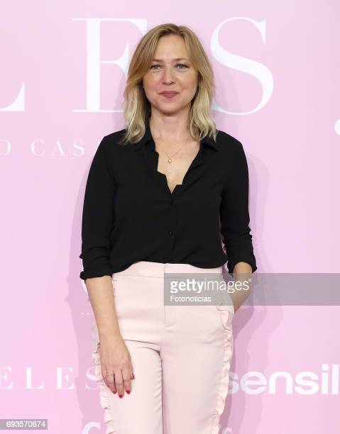 Pilar Castro attends the 'Pieles' premiere pink carpet at Capitol cinema on June 7 2017 in Madrid Spain