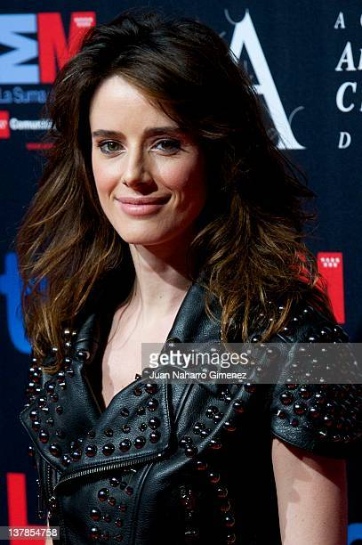 Pilar Lopez de Ayala attends the Goya Awards Nominated Gala 2012 at Real Casa de Correos on January 28 2012 in Madrid Spain
