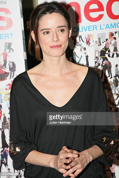 Pilar Lopez de Ayala attends the ''Medianeras' Paris premiere at UGC Cine Cite des Halles on May 24 2011 in Paris France