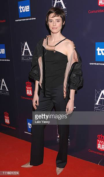 Pilar Lopez de Ayala during Goya Cinema Awards Nominated Gala in Madrid at Comunidad de Madrid Building in Madrid Spain