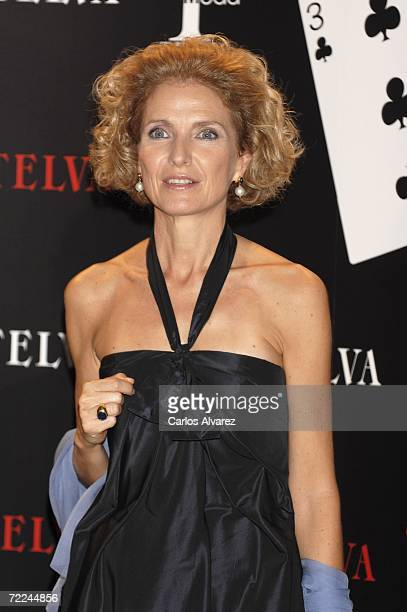 Pilar Medina Sidonia attends TELVA Magazine Fashion Awards on October 23 2006 at Hotel Palace in Madrid Spain