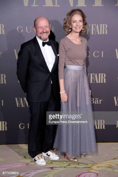 Pilar Medina Sidonia attends the gala 'Vanity Fair Personality of the Year' to Garbine Muguruza at Ritz Hotel on November 21 2017 in Madrid Spain
