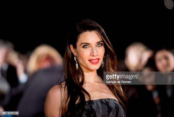Pilar Rubio attends fesTVal Orange Carpet on March 31 on March 31 2017 in Burgos Spain