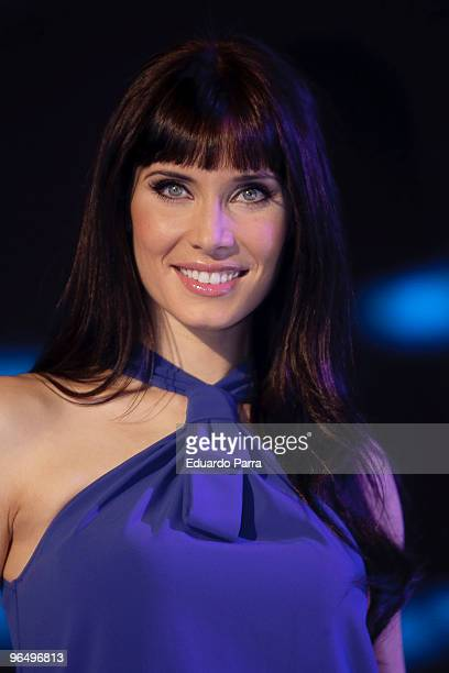 Pilar Rubio attends Mira Quin Baila TV Programme press conference at Picasso Studios on February 8 2010 in Madrid Spain