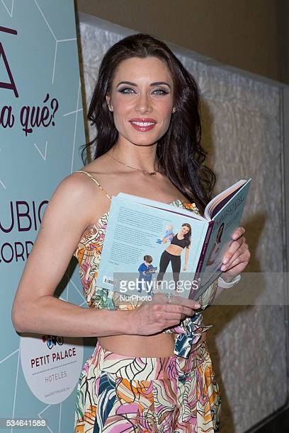 Pilar Rubio attends the presentation of the book quotpregnant now whatquot In Madrid Spain on May 26 2016