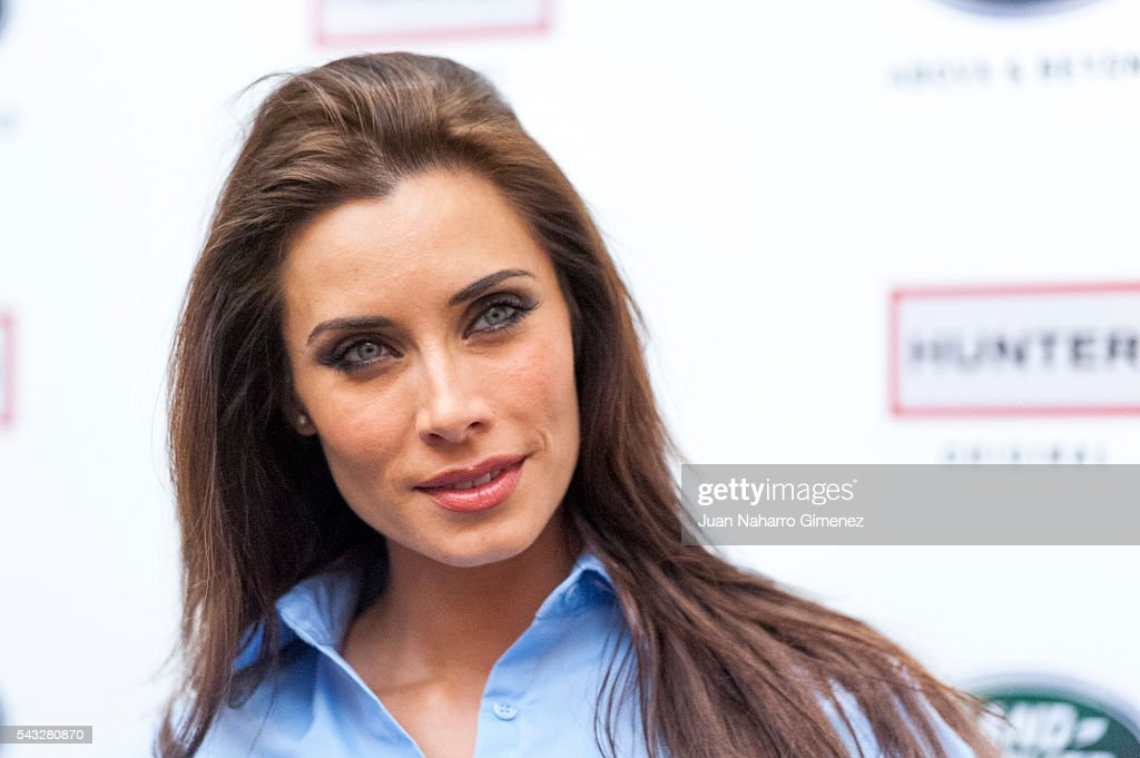 <a gi-track='captionPersonalityLinkClicked' href=/galleries/search?phrase=Pilar+Rubio&family=editorial&specificpeople=4212807 ng-click='$event.stopPropagation()'>Pilar Rubio</a> attends 'VII Land Discovery Challenge' photocall at Ilunion Hotel on June 27, 2016 in Madrid, Spain.