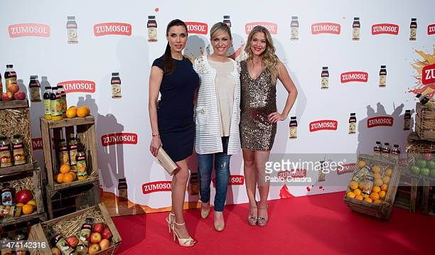 Pilar Rubio Lujan Arguelles and Patricia Montero attend the 'Zumosol' presentation at Callao City Lights Cinema attends the 'Zumosol' presentation at...