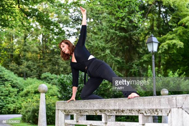 Pilates in het park