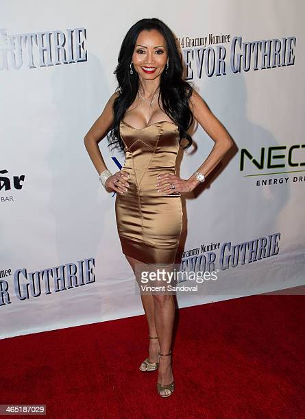 Pilates instructor Kelly Mac attends the PreGrammy Celebration Party for Trevor Guthrie on January 25 2014 in Los Angeles California
