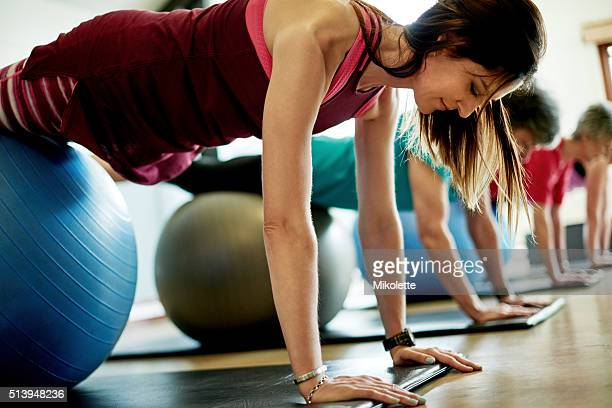 Pilates strengthens the core and so much more