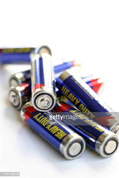 Pile of Batteries