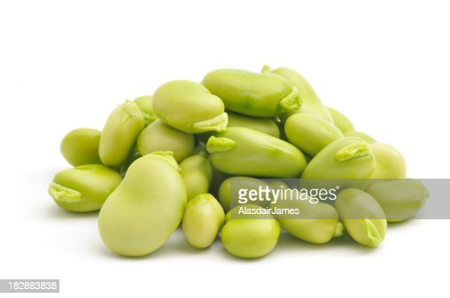 Pile of Broad Beans(Fava Beans)