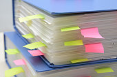 Pile of business document