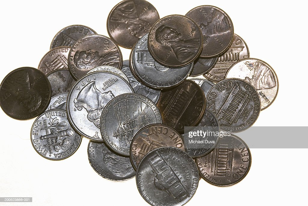 Pile of coins : Stock Photo
