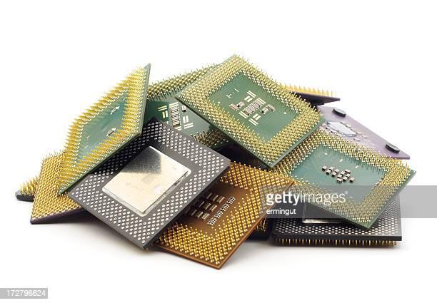 Pile of CPUs