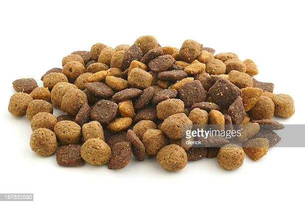 pile of dry dog food