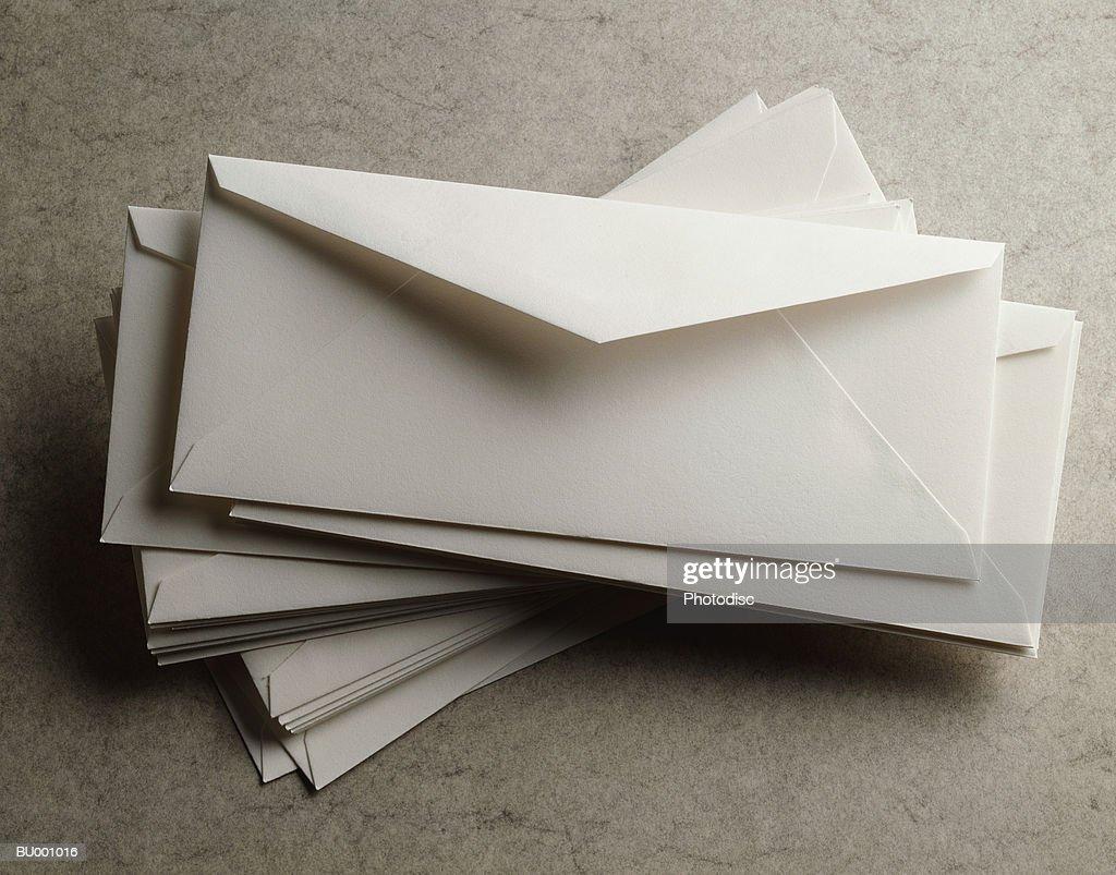 Pile of Envelopes : Stock Photo