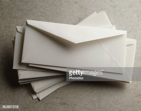 Pile of Envelopes : Stockfoto