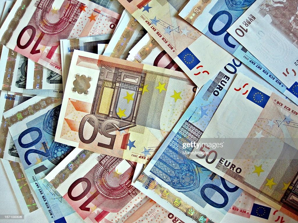 Pile of Euros : Stock Photo