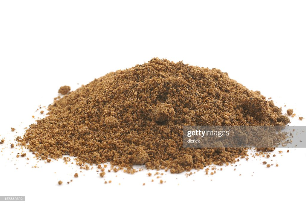 Pile Of Ground Nutmeg Stock Photo | Getty Images