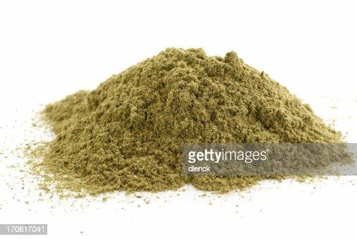 pile of ground sage