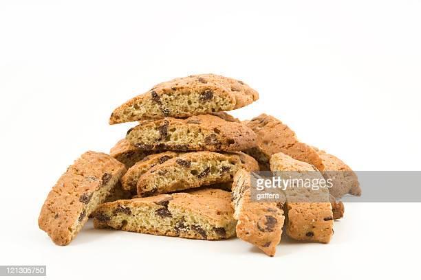 Pila di biscotti italiani