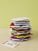 Pile of letters to Santa