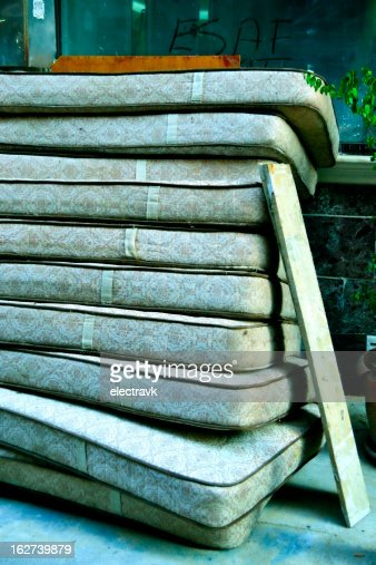 Stack Of Mattresses Stock Photos And Pictures Getty Images