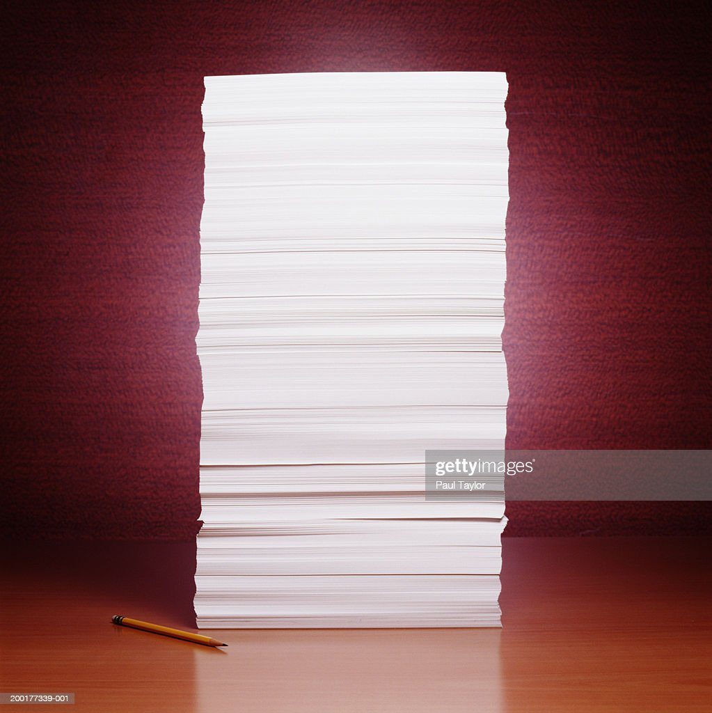 Pile of paper : Stock Photo