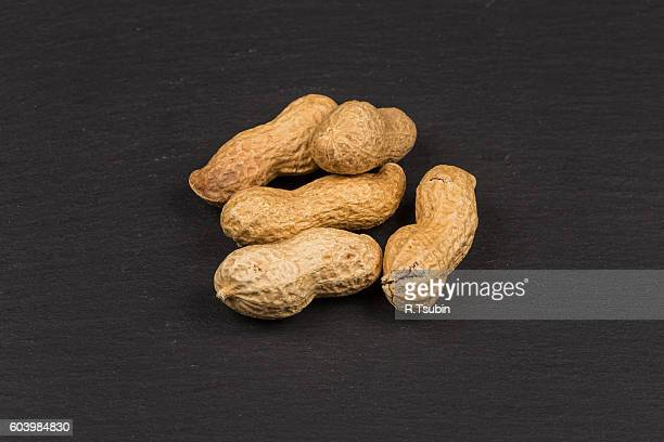 Pile of peanuts nuts