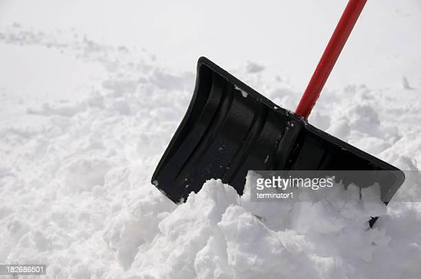 Haufen von Schnee