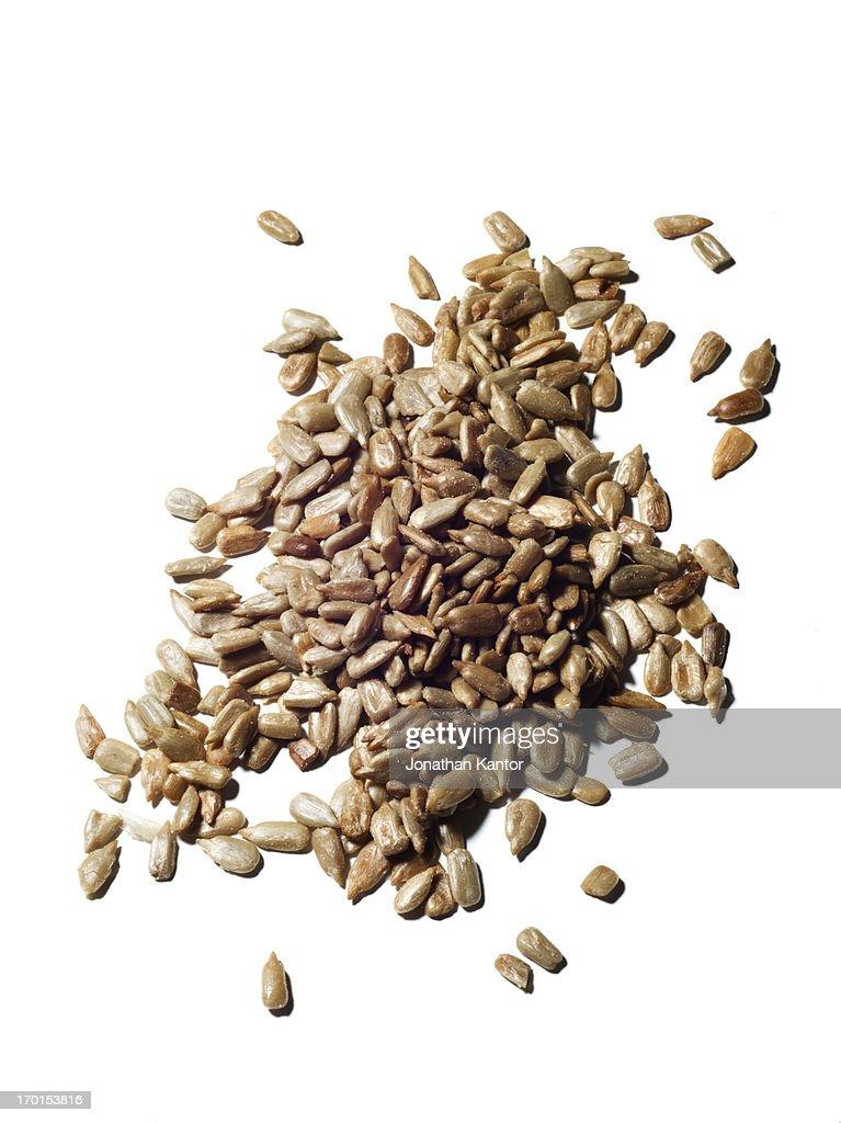 A Pile of Sunflower Seeds