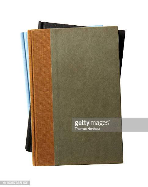 Pile of three retro workbooks