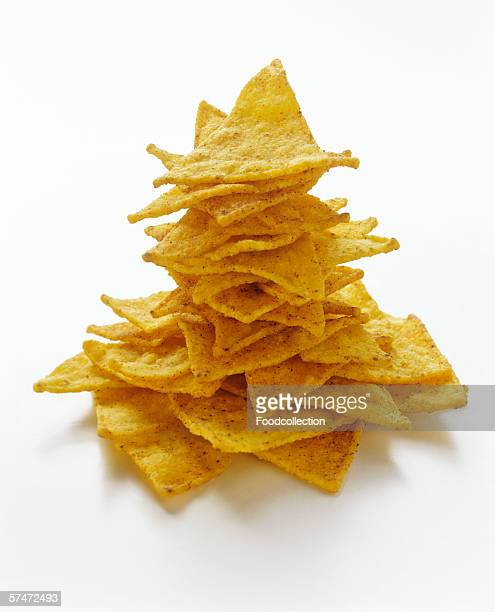 A Pile of Tortilla Chips