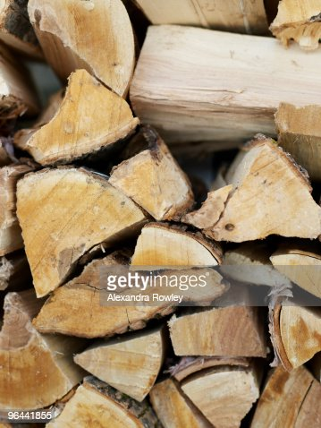 Pile of wood : Stock Photo
