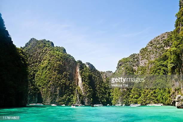 Pileh Cove at Phi Phi Island, Thailand