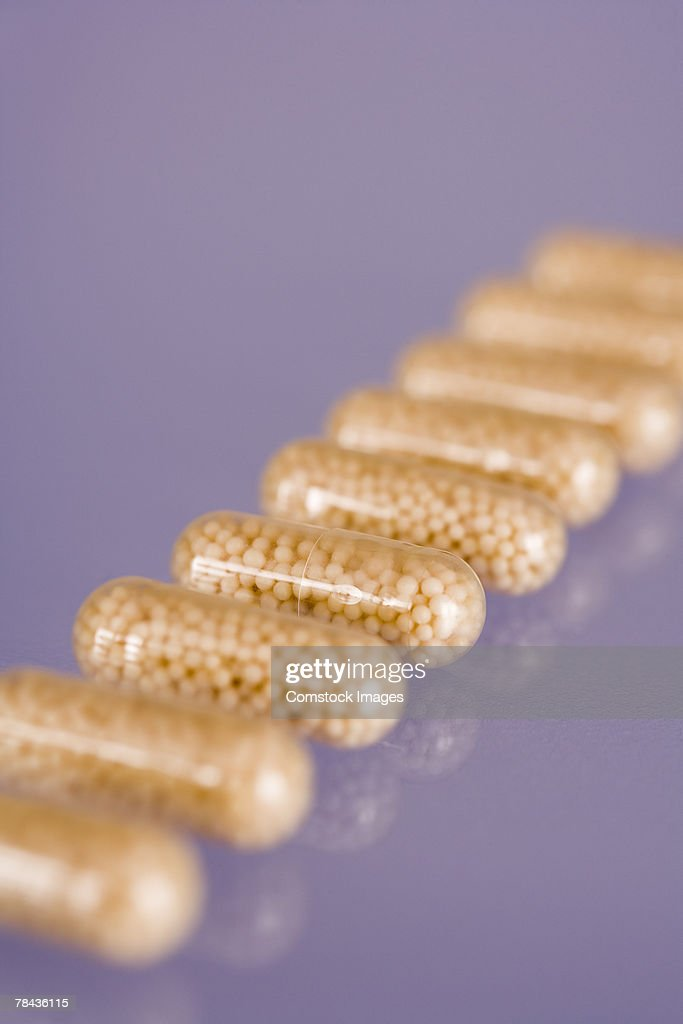 Pill capsules : Stock Photo