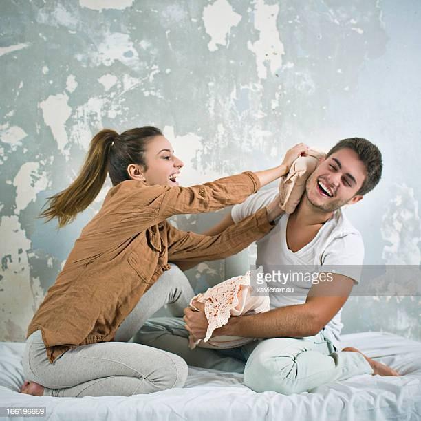 Combat oreillers