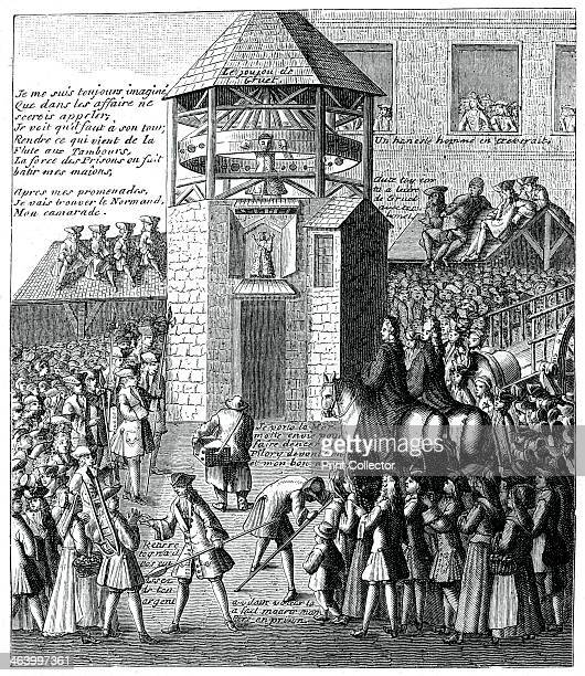 Pillory In The Market Based on a popular print The pillory was a device used in punishment by public humiliation
