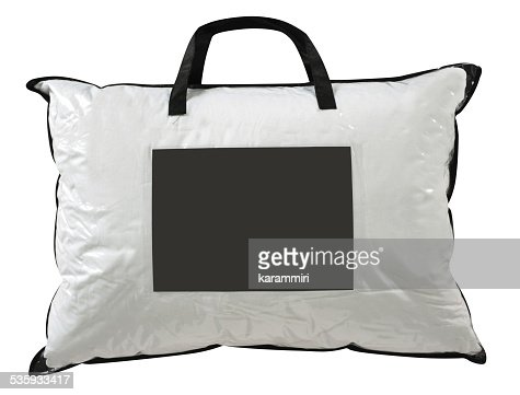 Pillow case. Clipping path : Stock Photo