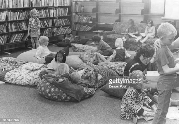 Pillows another innovation at South Park is reason elementary school children jam the library The youngsters didn't use library until pillows were...