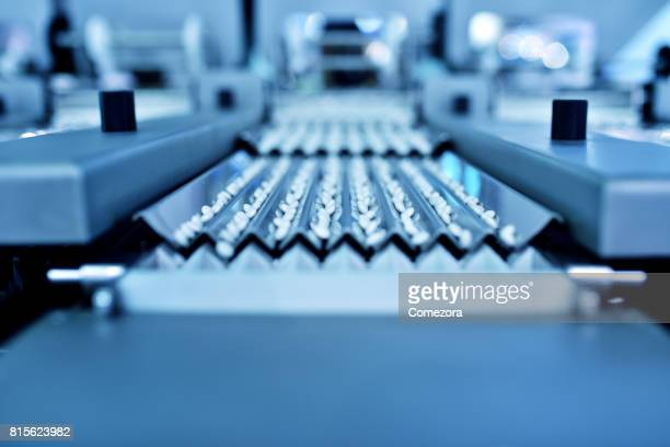 Pills at Automation Production Line