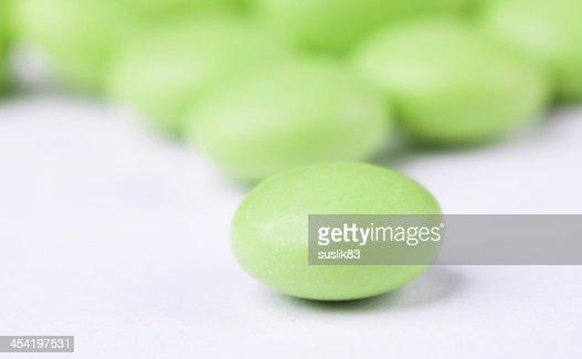Comprimido : Foto de stock