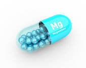 3d pills with magnesium Mg element dietary supplements