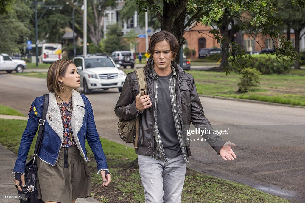 RAVENSWOOD - 'Pilot' - After opting to stay in Ravenswood to help out new pal Miranda, Caleb begins to rethink his decision, especially after he meets Miranda's cold and unwelcoming uncle Raymond (Steven Cabral). Caleb also has some unpleasant interactions with local resident Luke (Brett Dier), who is struggling to deal with a recent family tragedy and its ensuing scandal, which has also swept up his twin sister Olivia (Merritt Patterson) in the series premiere of 'Ravenswood,' airing Tuesday, October 22nd (9:00 - 10:00 PM ET/PT). BLACKBURN