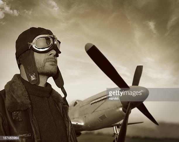 Pilote et l'avion