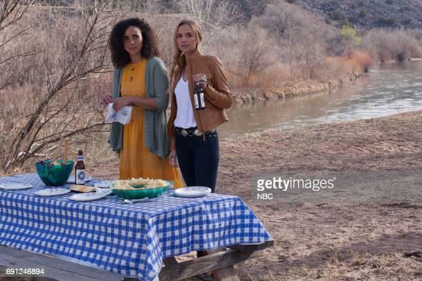 TEXAS 'Pilot' Episode 101 Pictured Parisa FitzHenley as Fiji Cavanaugh Arielle Kebbel as Olivia