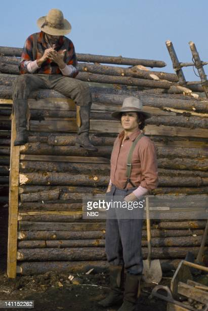 PRAIRIE Pilot Episode Air Date Pictured Victor French as Isaiah Edwards Michael Landon as Charles Philip Ingalls Photo by NBCU Photo Bank